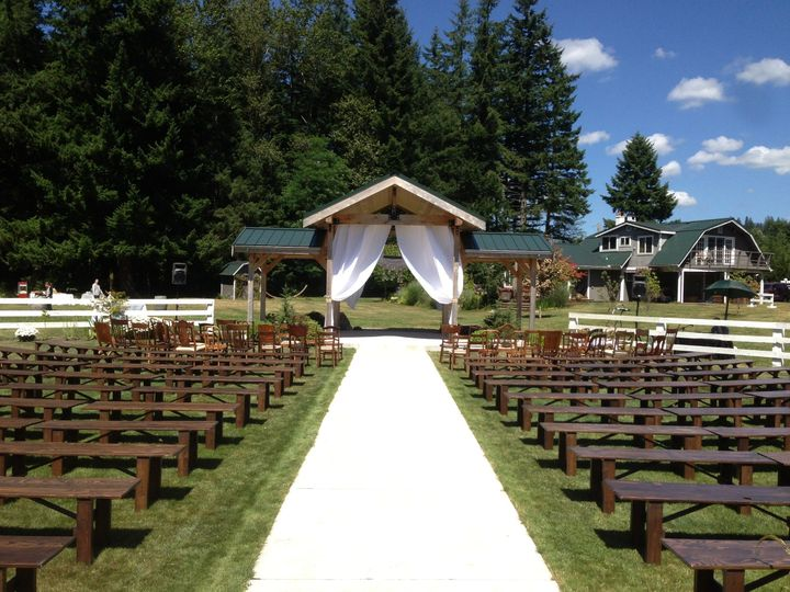 Tmx 1439392322463 Benchceremony Ravensdale, WA wedding venue