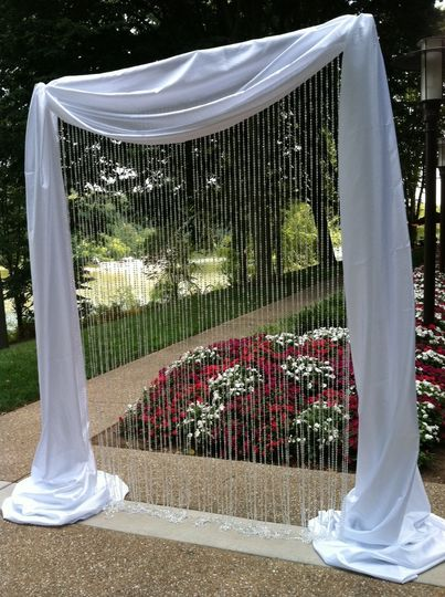 800x800 1367245747755 crystal curtain arch
