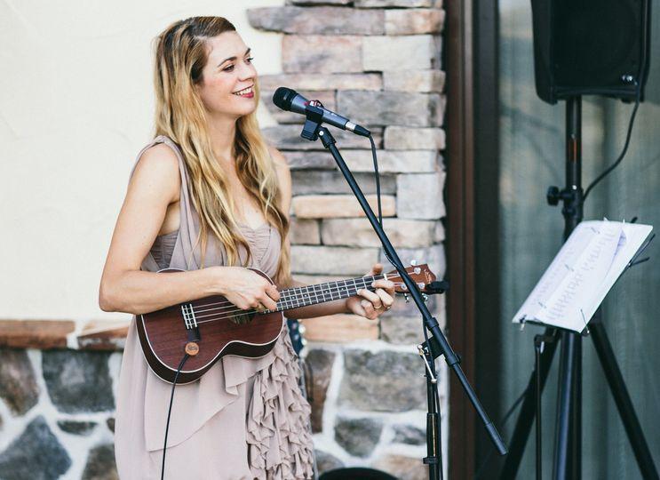 Performing at a Wedding - Avila Beach, CA