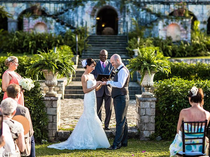 Tmx 1395361734714 A   Rose Hall Great House Wedding   Altar Colo Blakeslee wedding planner