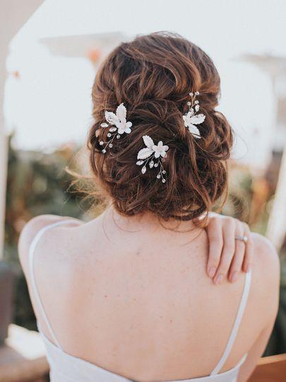 """""""Lindsay"""" Hair Pins"""