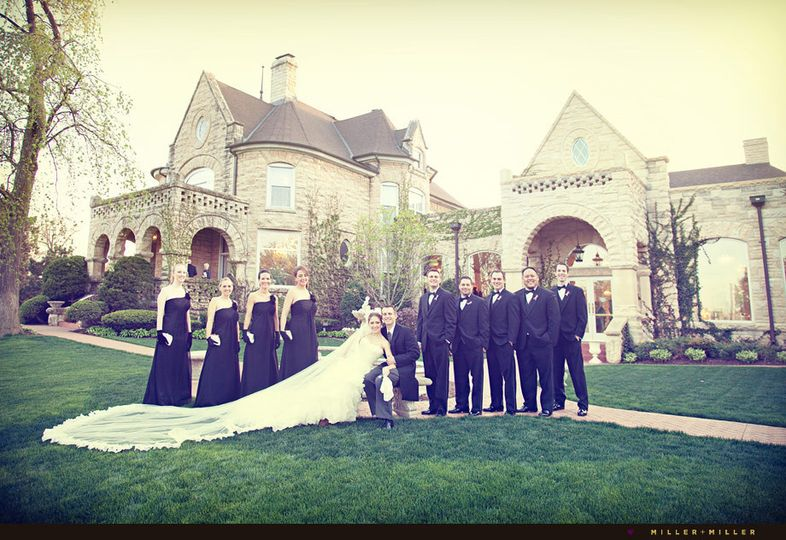 patrick haley mansion wedding photographer joliet