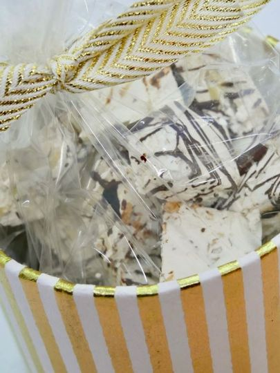 Wrapped nougat treats