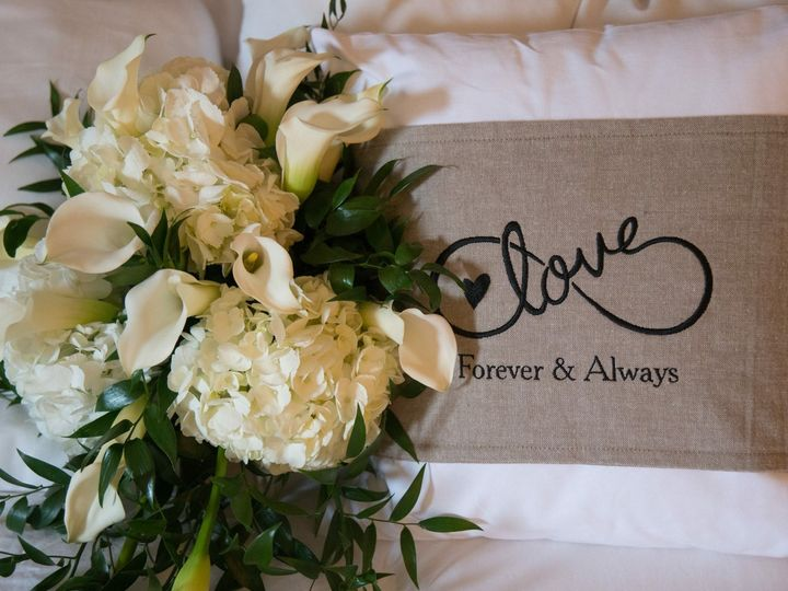 Tmx 1485968414813 Flowers With Customized Pillow Feasterville Trevose, PA wedding venue