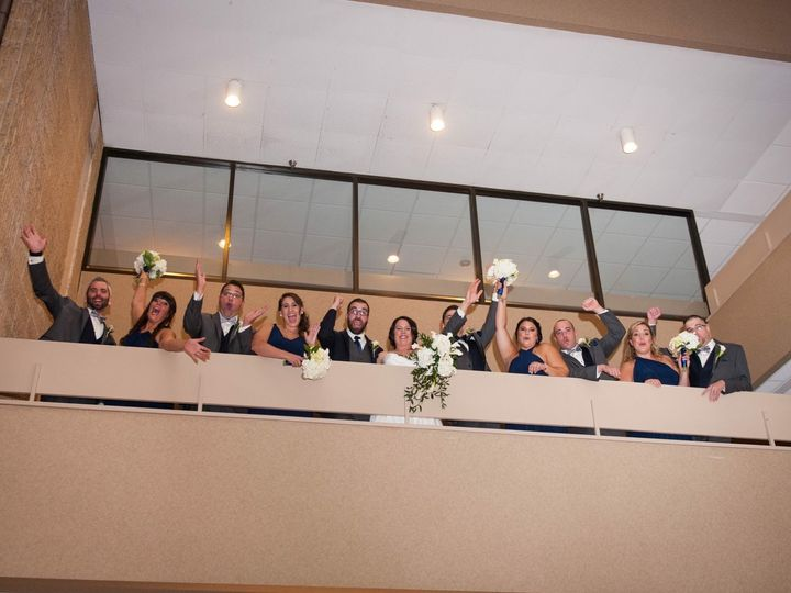Tmx 1514488802438 Wedding Party On Upper Hotel Floor2 Feasterville Trevose, PA wedding venue