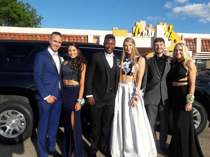A Prom To Remember! Arrive in Style for your occasion. Houston Limo service