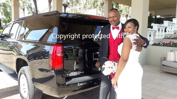 Galveston Wedding car