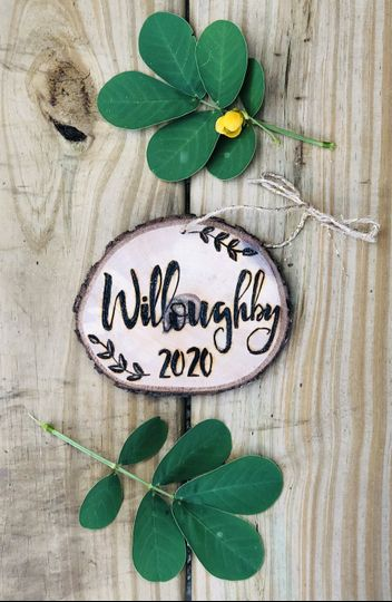 Willoughby holiday ornament