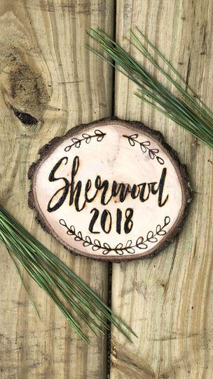 Sherwood holiday ornament
