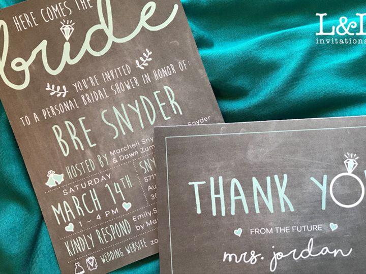 Tmx Bre Shower 51 1036441 160210044878005 Denver, CO wedding invitation