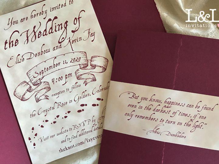 Tmx Elise Kevin 1 51 1036441 160210041127083 Denver, CO wedding invitation