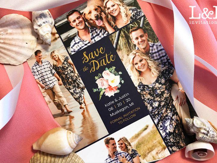 Tmx Katie Justin Std 51 1036441 160210045553986 Denver, CO wedding invitation