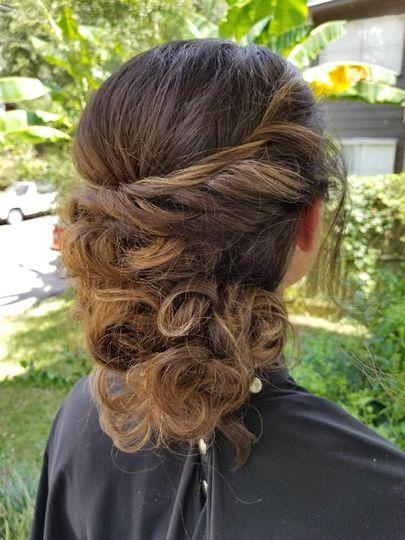 Structured curls