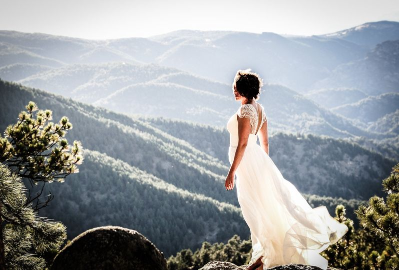 Intimate Mountain Wedding
