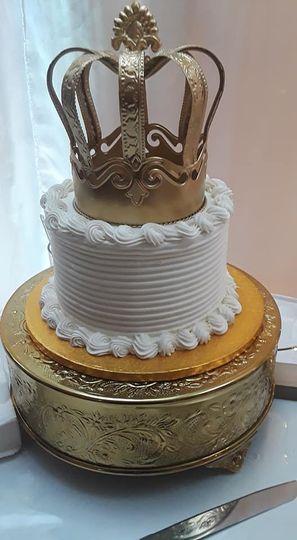 King/Queen cake