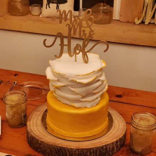 Wedding cake December 2020