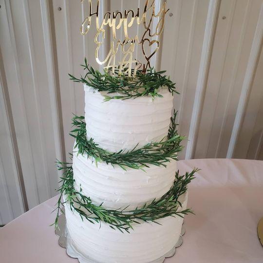 Wedding cake March 2021