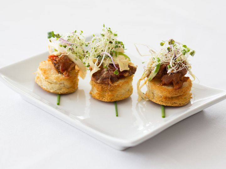 Tmx 1531336257 5a4f5cb3a30598c0 1531336254 F7ce8240404d5a84 1531336234642 5 Pork Canape  Overland Park wedding catering