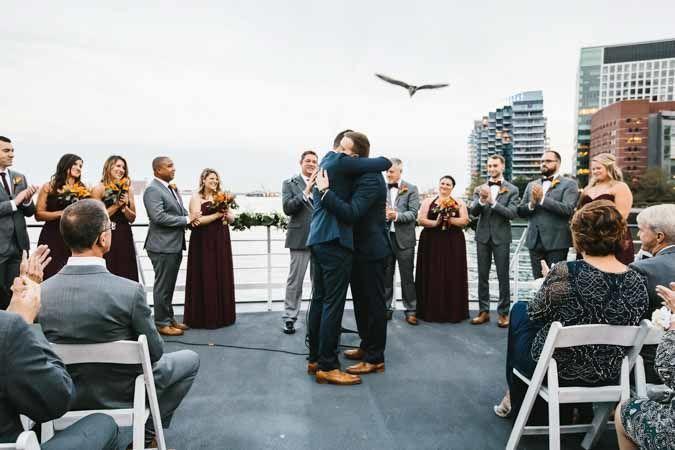 Odyssey skydeck ceremony