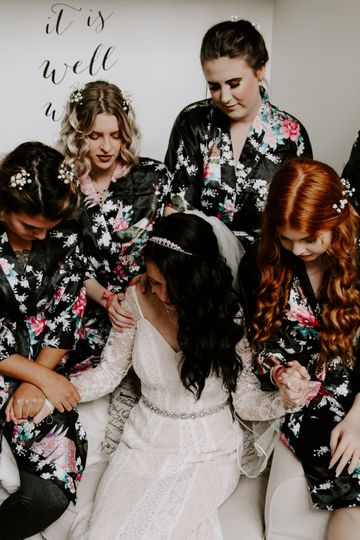 Pre-wedding prayer