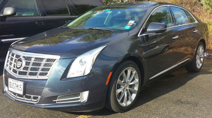 3 passenger Cadillac XTS