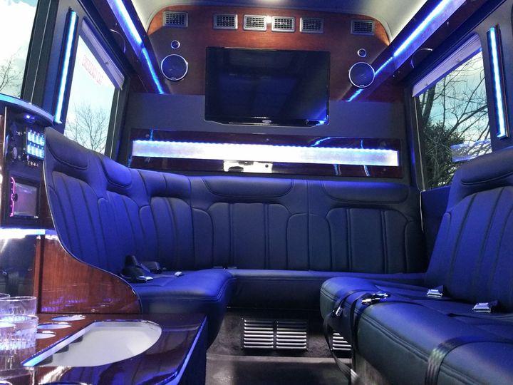 Tmx Sprinter Limousine Interior 6 51 711541 157721218524111 Gorham, ME wedding transportation