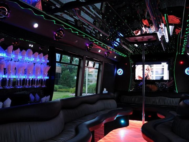 Tmx 1454992227441 Party Bus Interior Germantown wedding transportation