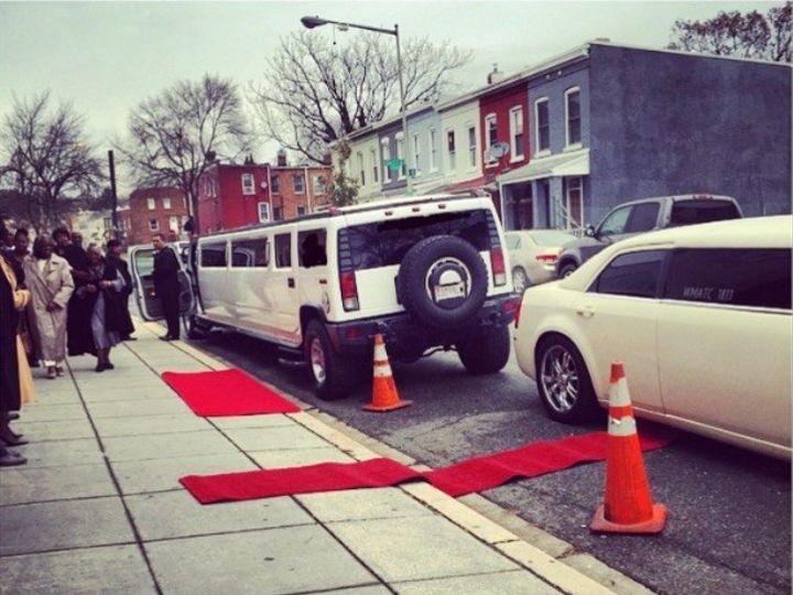 Tmx 1455666314429 Limo Red Carpet Yelp Germantown wedding transportation