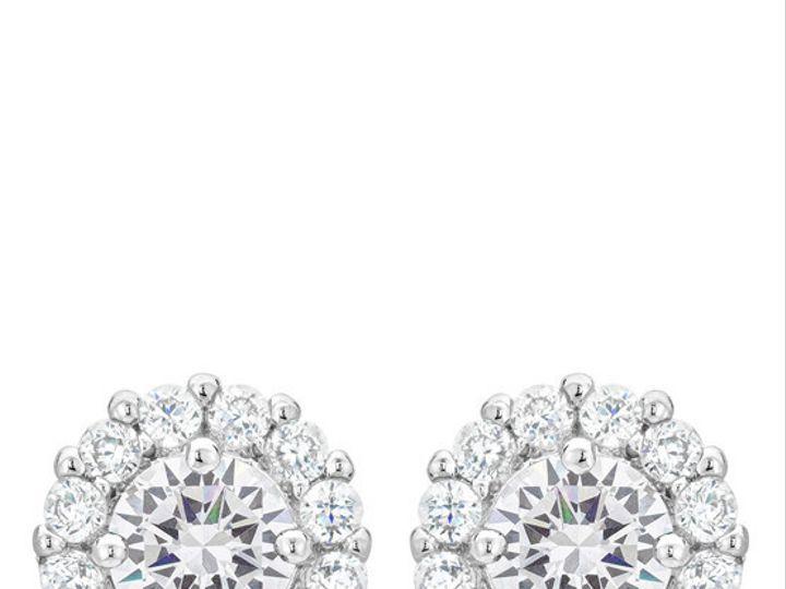 Tmx 1446040080946 Bella Bridal Earrings Mantua wedding jewelry