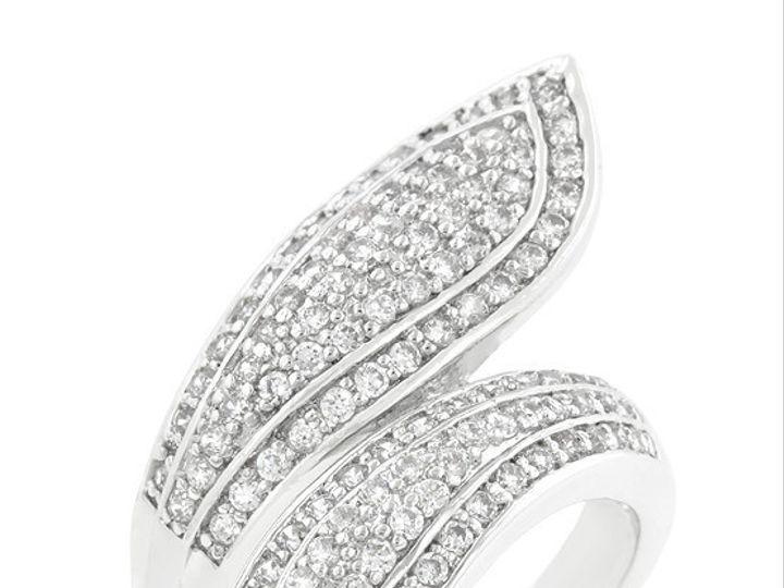 Tmx 1446040353215 Pavewrapring Mantua wedding jewelry