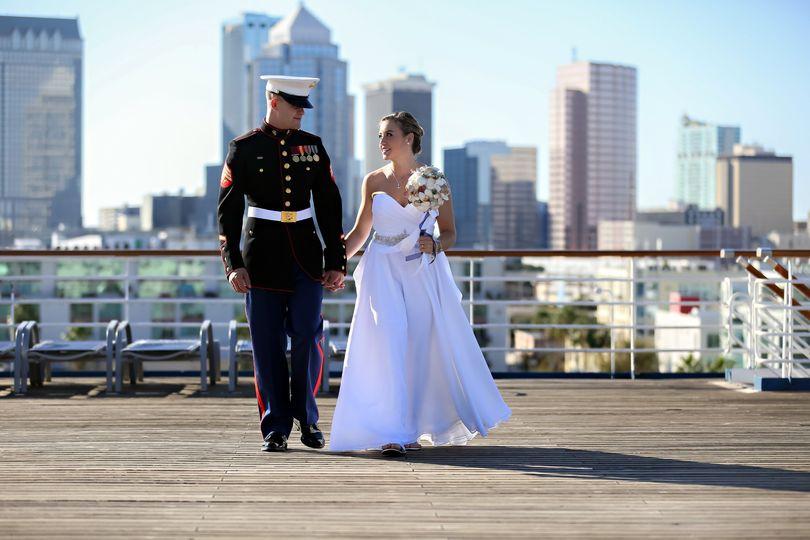 Wedding on Cruise Ship