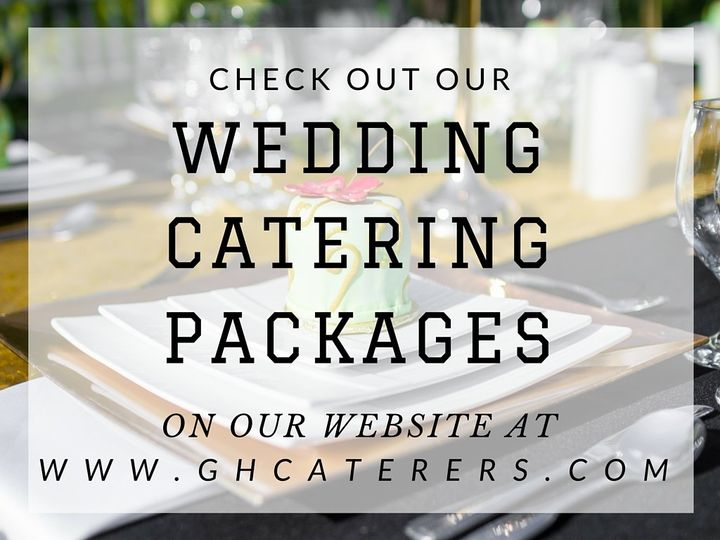 Check Out Our Wedding Catering Packages on Our Website!!