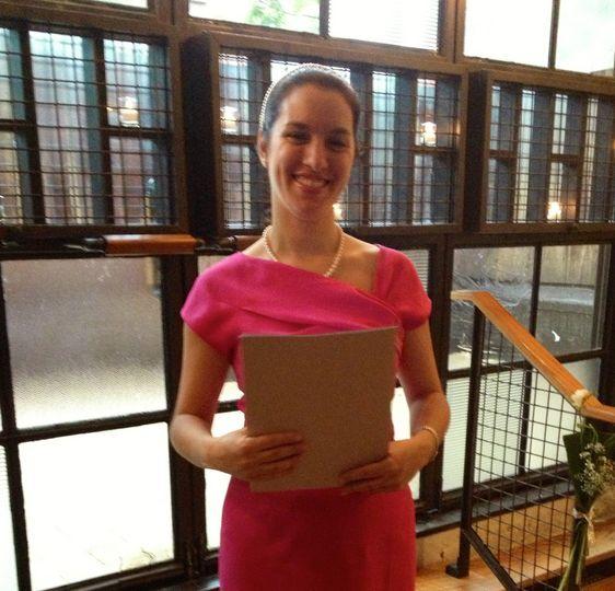 Veronica Moya Bilingual Officiant