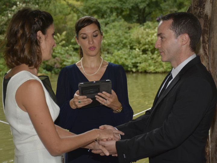 Tmx 1506366208218 Spanish Wedding Officiant Veronica Moya New York, NY wedding officiant