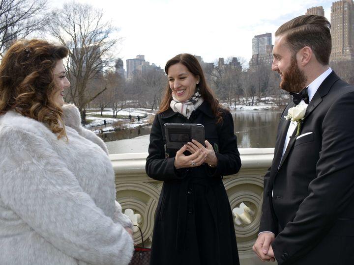 Tmx 1515381882 59d7cbfaa3609c51 1515381880 77d96ed2ffade660 1515381878233 5 Bow Bridge Veronic New York, NY wedding officiant