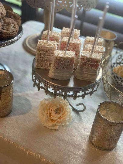 Bridal shower sweets