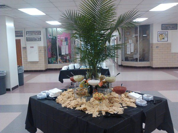 Queso Fountain for Reception of 300+ guests
