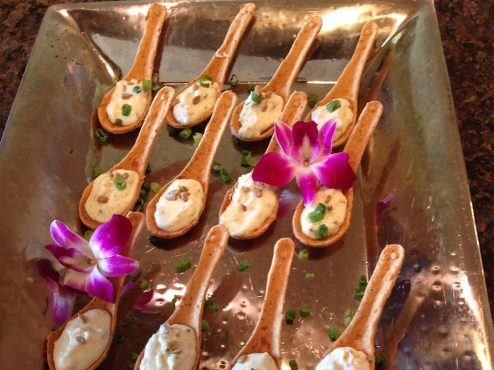 Tmx Edible Spoons W Blue Cheese And Bacon Deliciousness 2 51 448541 159908836385606 Galveston, TX wedding catering