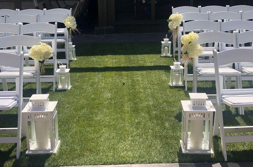 Wedding Decor and Seating