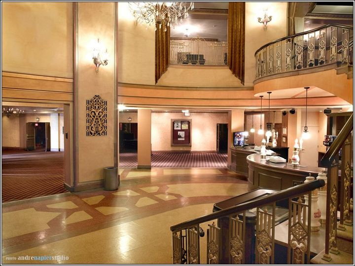 Lobby:  Complete with elegant spiral staircase - must see!   Capacity – Approximately 350 standing....
