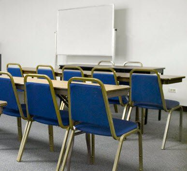 Rooms C or D:  Capacity – approx. 30 These meeting and classroom rooms are perfect for small parties...