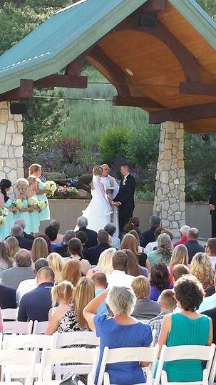 Wedding Ceremony - Castle Rock