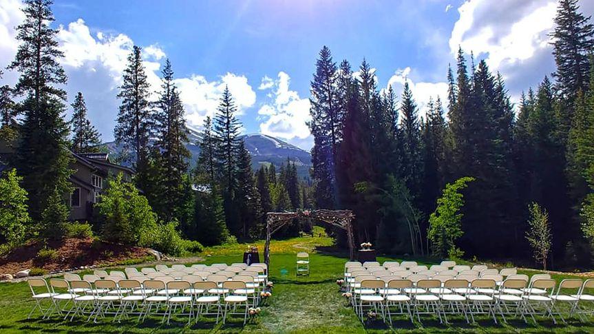 Ceremony Site - Breckenridge