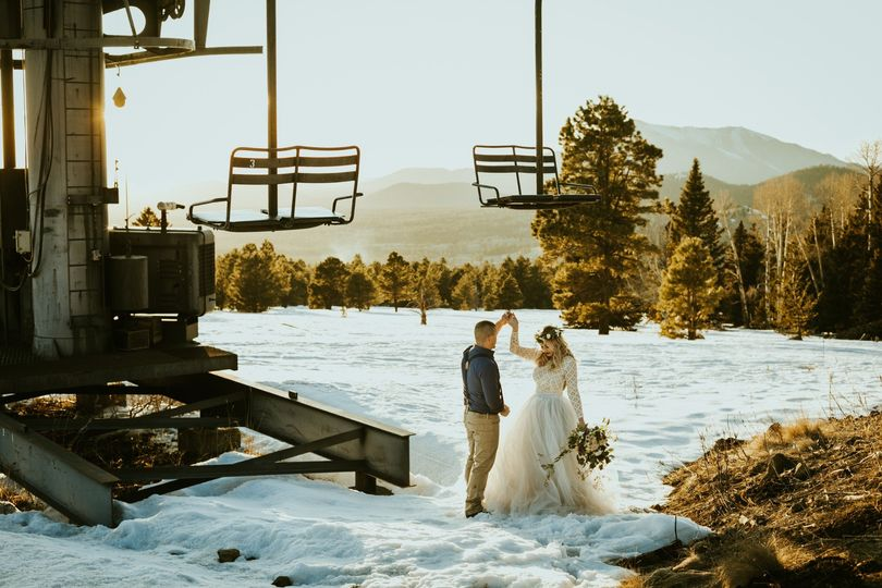 Stunning mountain backdrop - Frankely Photography