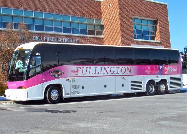 Pink Zone Bus