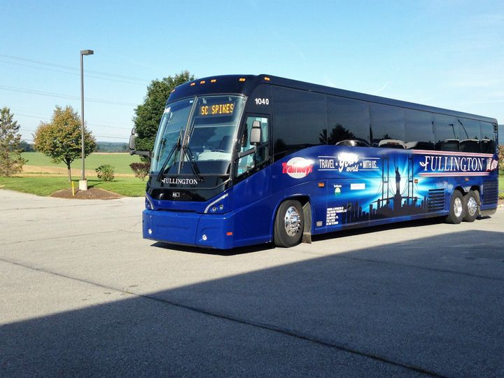 Tmx Bus 1040 Coming Into The Lot 51 1060641 1556735282 State College, PA wedding transportation