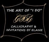 2016 Logo Calligraphy by Elaine, Inc. #CalligraphybyElaine #CBE #Logo #Calligrapher #Invitations
