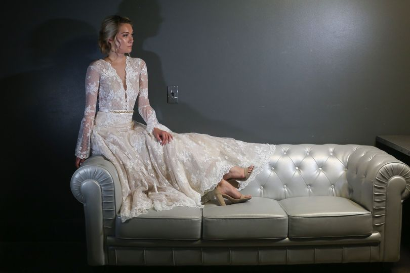 Fully Lace Wedding Gown