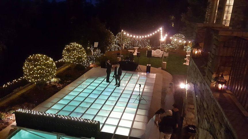 Wedding ballroom area