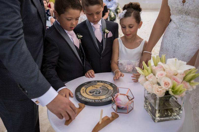 Family wedding puzzle